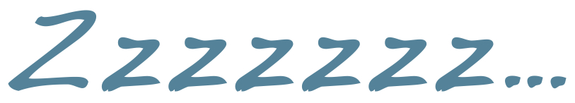 Image of phrase Zzzzzzz…