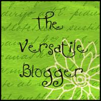 Image of The Versatile Blogger Award Badge