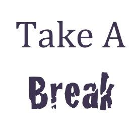how to take a break in dbm