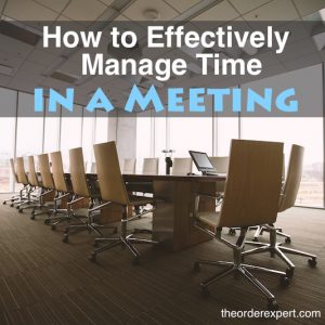 How to Effectively Manage Time in a Meeting