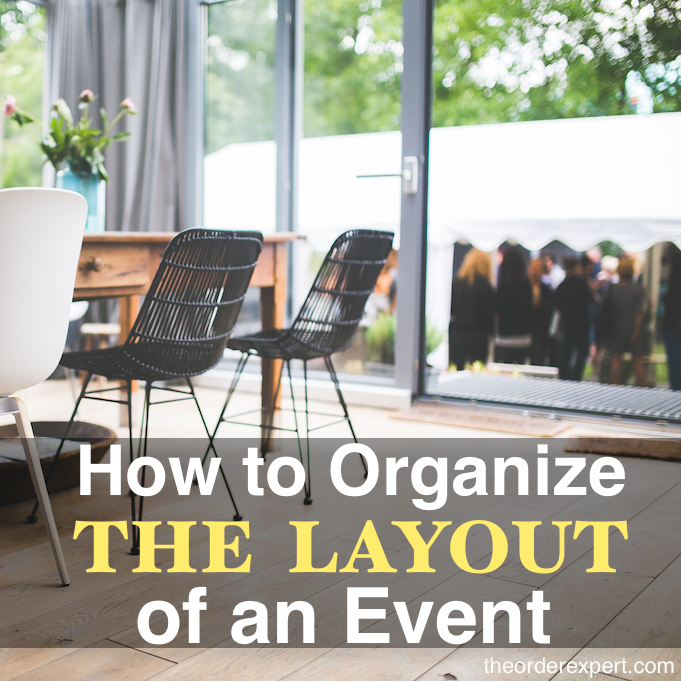 How to Organize the Layout of an Event