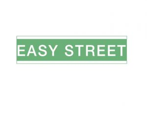 """Image of sign """"Easy Street"""""""