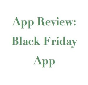Image of phrase, App Review: Black Friday App