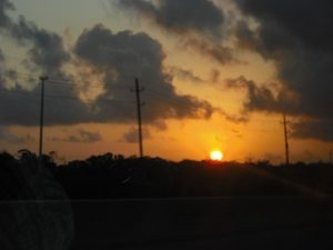 Image of a sunrise, photography by R. Isip