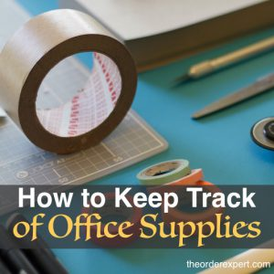 How to Keep Track of Office Supplies