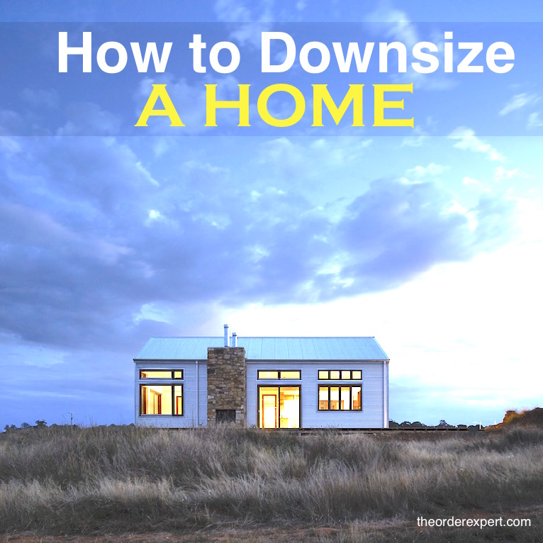 How to Downsize a Home