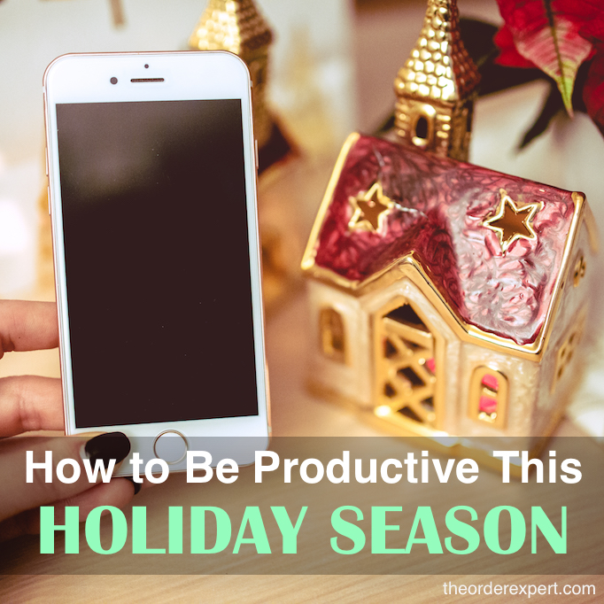 How to Be Productive this Holiday Season