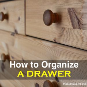 How to Organize a Drawer