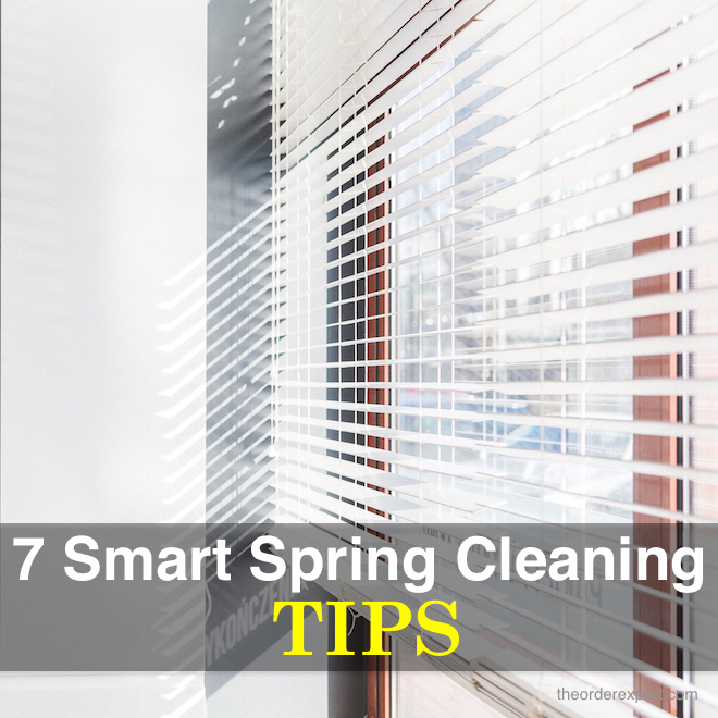 7 Smart Spring Cleaning Tips