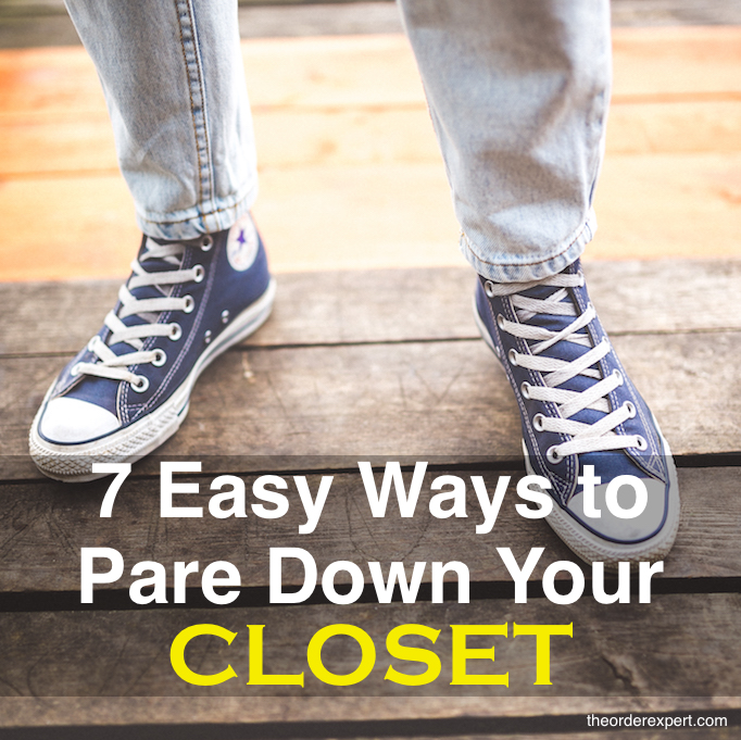 7 Easy Ways to Pare Down Your Closet