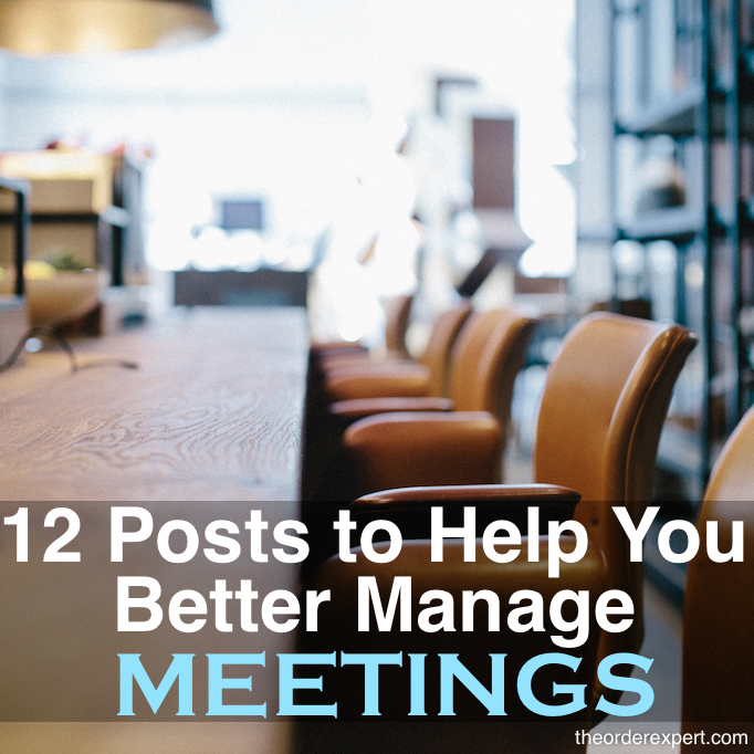 12 Posts to Help You Better Manage Meetings