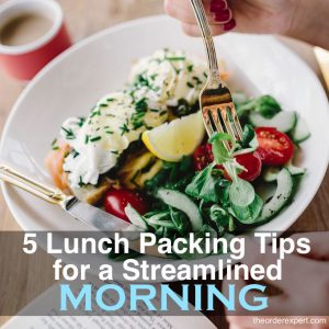 5 Lunch Packing Tips for a Streamlined Morning