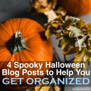 4 Spooky Halloween Blog Posts to Help You Get Organized