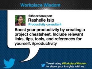 Rashelle Isip, Workplace Wisdom on Captivate